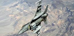 Amerykański F-16 rozbił się niedaleko Las Vegas