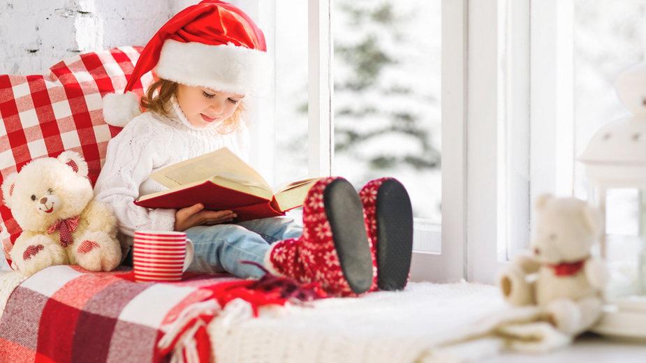 Książka to świetny pomysł na mikołajkowy prezent dla najmłodszych