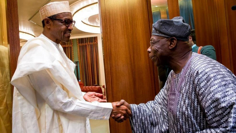 President Muhammadu Buhari (left) and former president, Olusegun Obasanjo (right), have not been on the best of terms since 2018 [Punch]