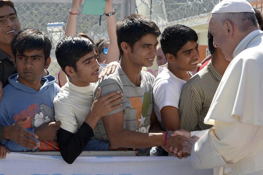 Pope Francis Visits Lesbos - Greece