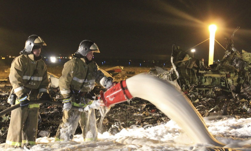 Katastrofa w Kazaniu