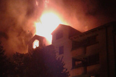 Pekli paprike na krovu i izazvali požar