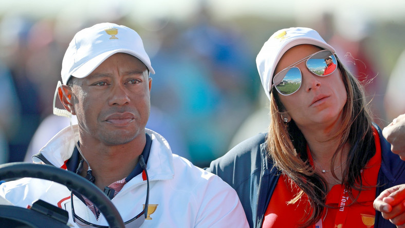 Tiger Woods and Erica Harmen