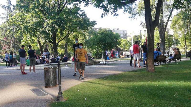 Pionirski park početak protesta