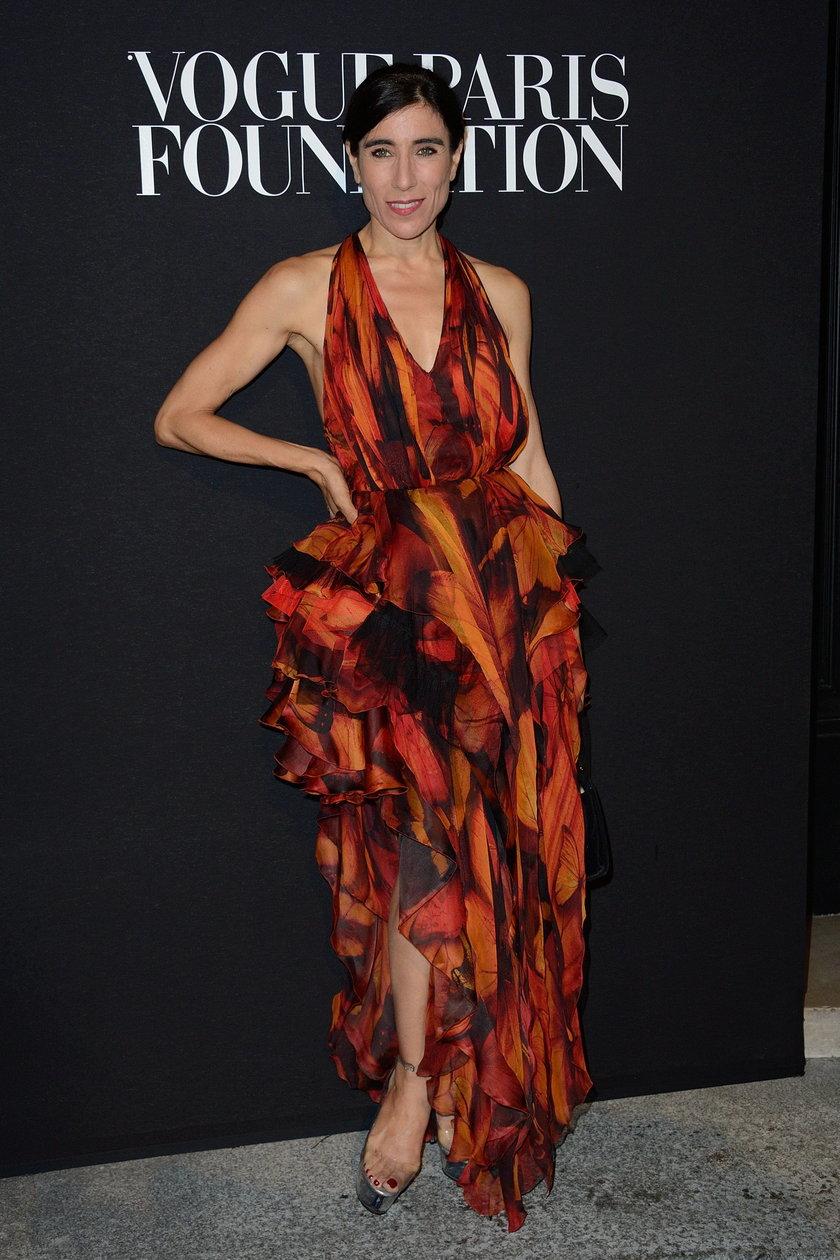 Blanca Li na gali Vogue Foundation