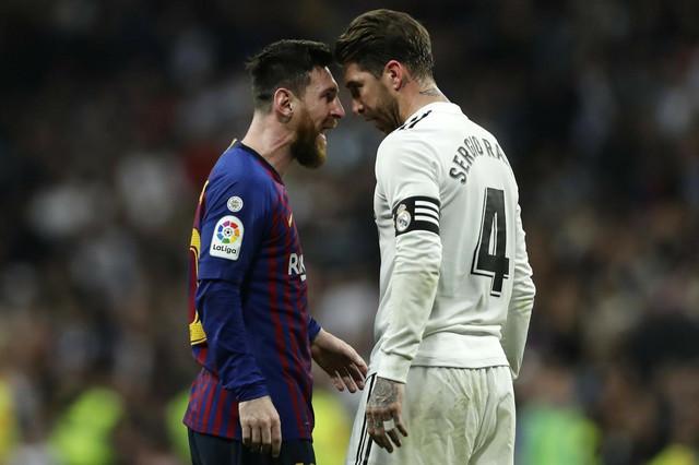 Lionel Mesi, Serhio Ramos, FK Real Madrid, FK Barselona