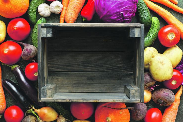 voće i povrće pokrivalica