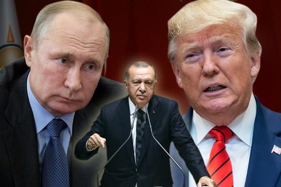 TROUGAO MOĆI Ko će dobiti najveće parče, a ko ostati kratkih rukava: Kako Amerika, Rusija i Turska prepliću interese u Siriji