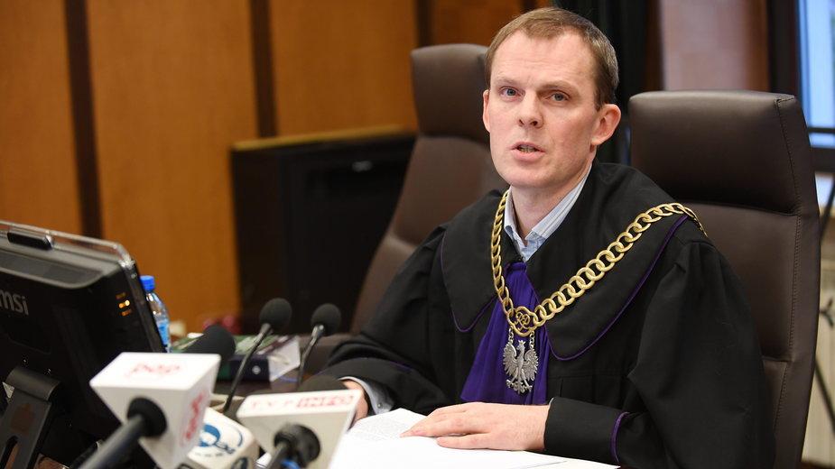 Sędzia Jacek Tyszka, fot. z 2016 r.