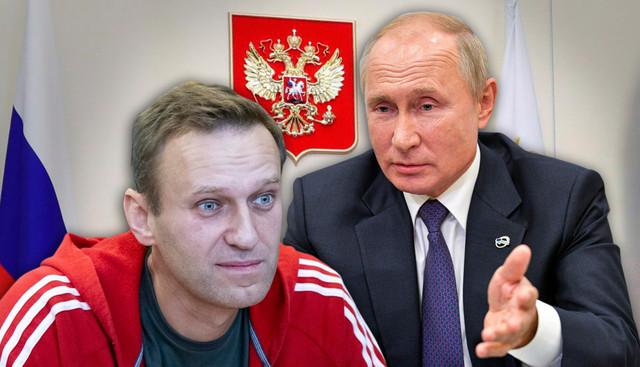 Putin i Navaljni
