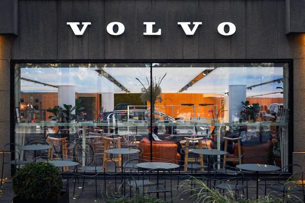 Showroom Volvo. Sztokholm, Szwecja. 21.09.2020