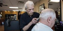 Najstarszy fryzjer na świecie nie żyje. Ścinał włosy przez 96 lat