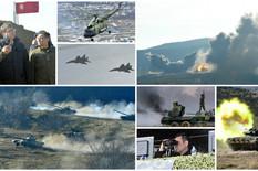 """MIGOVI, HAUBICE, TENKOVI... Vučić na vežbi """"Vek pobednika"""": Kada bih rekao šta smo naručili, uveli bi nam sankcije (FOTO, VIDEO)"""