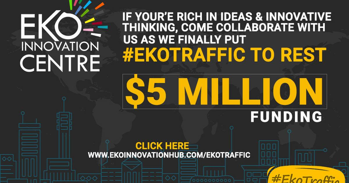 Eko Innovation Centre to spend $5 million on #Ekotraffic - Pulse Nigeria