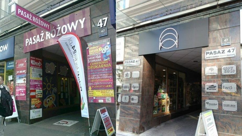 Zmiana na lepsze w Poznaniu. Usunęli kolorowe reklamy, zawiesilineon!
