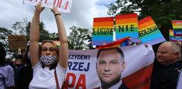 Protesty na wiecu Dudy. Słowa Czarnka oburzyły Polaków