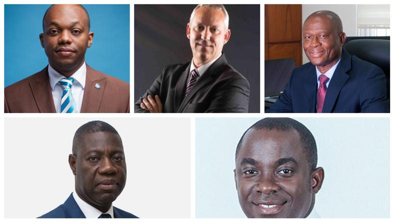CEOs of the five collapsed banks in 2018