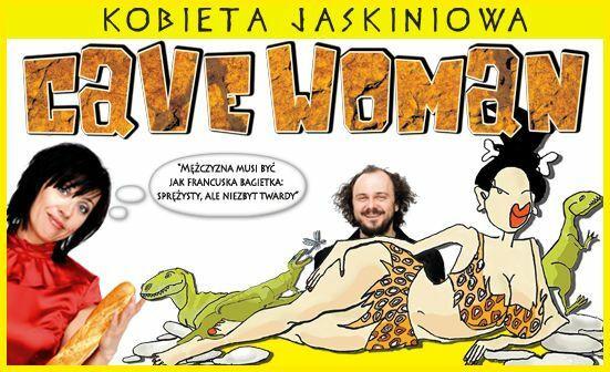 """Cavewoman - Kobieta jaskiniowa"" w reż. Arkadiusza Jakubika już w teatrach"