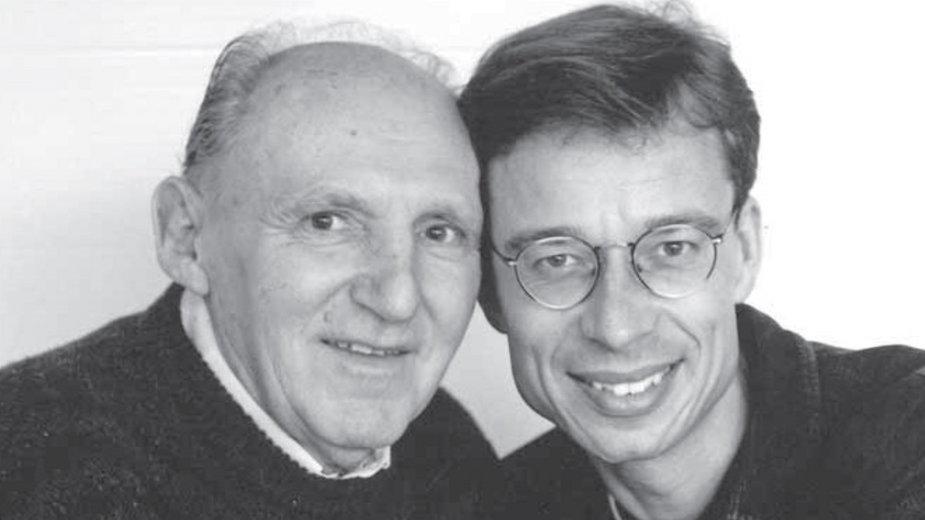 Stefan Kosiński i Lutz Van Dijk, arch. pryw.
