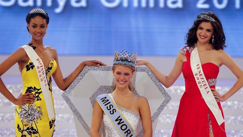 Pierwsza trójka konkursu: reprezentantki Botswany, USA i Wenezueli