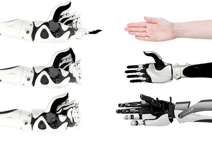 Niesamowite Bioniczna ręka Hackberry produkowana jest przez japońską Exii HM39