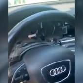 OČERUPAN AUDI Novosađanin ga parkirao ispred zgrade na pola sata, a kada se vratio, umalo nije pao u nesvest (VIDEO)