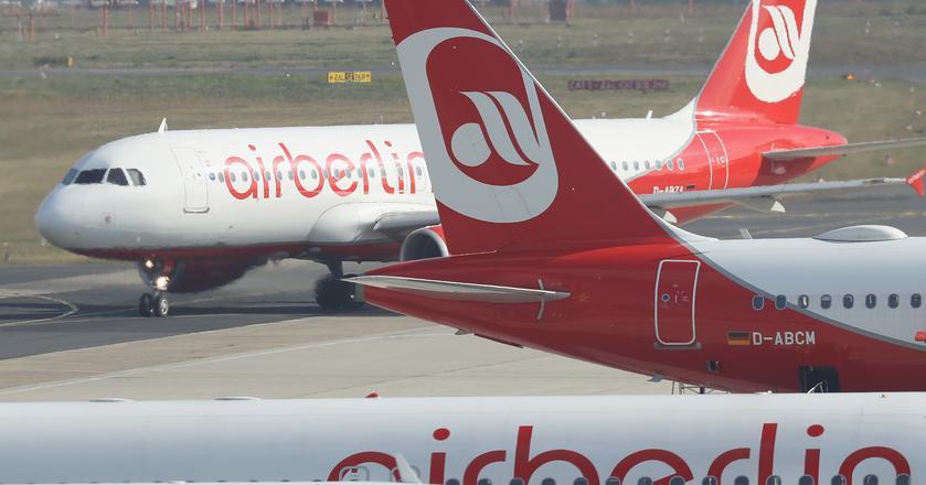Air Berlin to jedyna linia lotnicza operująca na trasie między Warszawą i Berlinem