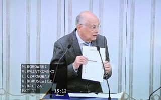 Borowski: Premier przypomniał sobie o emerytkach z rocznika 1953 r. Senacki projekt od pół roku jest w sejmowej zamrażarce