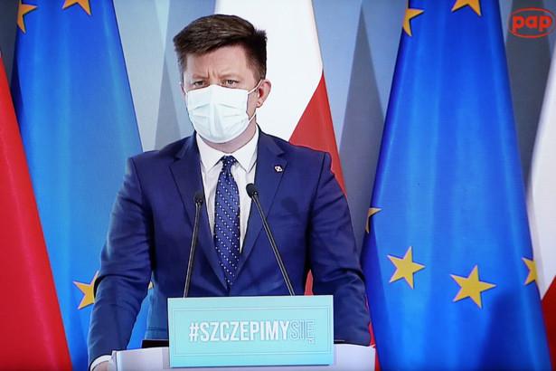 Minister-członek Rady Ministrów, szef KPRM Michał Dworczyk