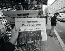 """""""NYT"""" stał się pierwszą na świecie firmą medialną, która przekroczyła liczbę miliona cyfrowych subskrypcji treści."""