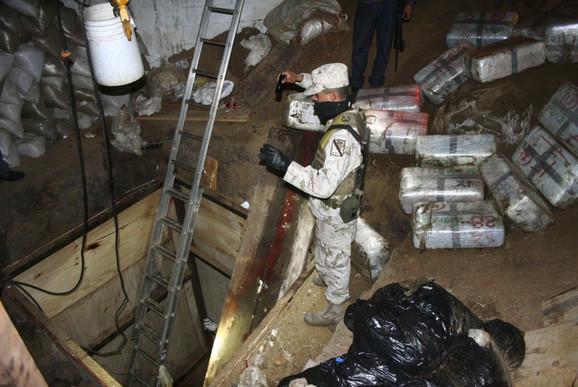 Tuneli koje meksička banda koristi za šverc narkotika preko američke granice
