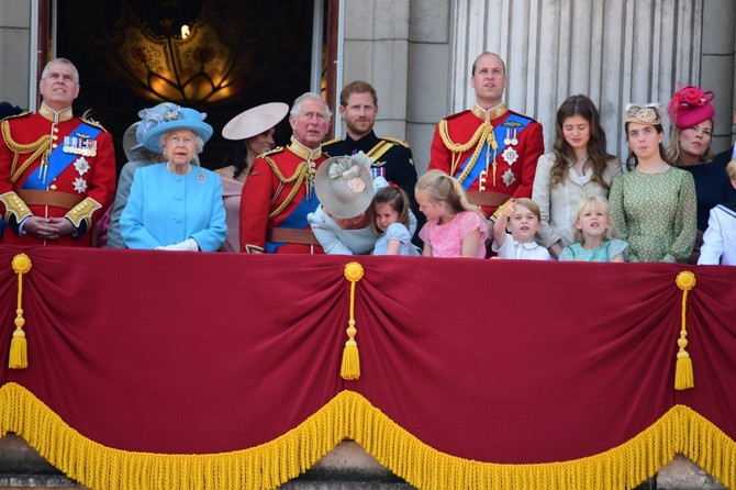 Britanska kraljevska porodica na okupu