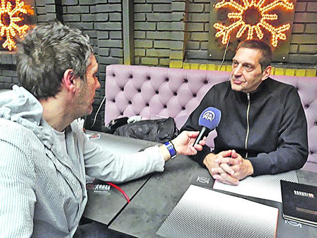 Igor Milanović u razgovoru sa našim saradnikom