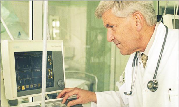 Andrzej Szczeklik, Człowiek Roku 2008 w Ochronie Zdrowia Fot. Daniel Malak