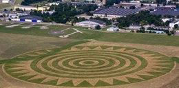 Znaki UFO koło lotniska w Świdniku? To...