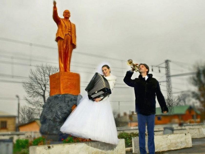 Ślubne zdjęcia z Rosji. Śmieszne zdjęcia z Rosji