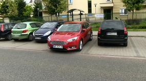 System wspomagający parkowanie (Active Park Assist) w samochodzie Ford Focus