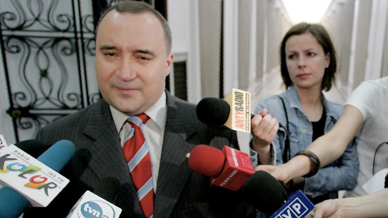 Gosiewski ma zakaz występowania w mediach