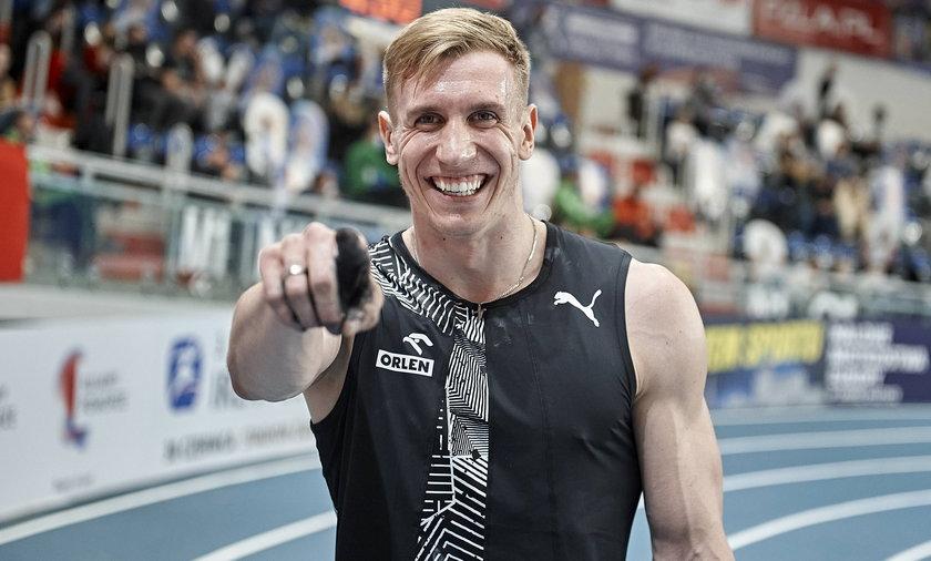 Tyczkarz Piotr Lisek jest jednym z kandydatów do medalu igrzysk w Tokio