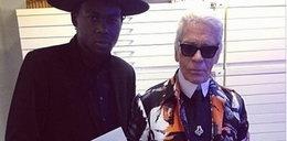 Karl Lagerfeld w singlu nowojorskiego rapera