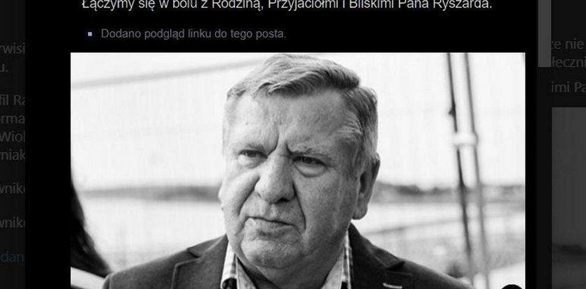 Śmierć radnego i fatalna wpadka Rady Miasta Gdańsk