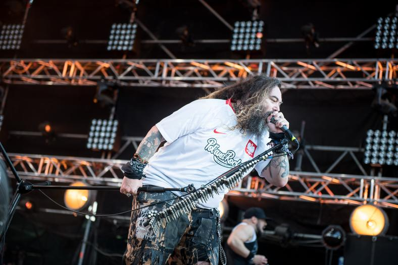 Max Cavalera na Pol'and'Rock Festival 2018