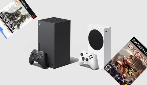 Xbox Series X|S uruchamia gry z PlayStation 2. Metal Gear Solid i God of War odpalone na next-genach