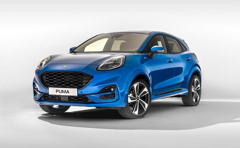Puma ma 4,19 m długości, to 15 cm więcej od Fiesty. Ford EcoSport jest od niej krótszy o 9 cm