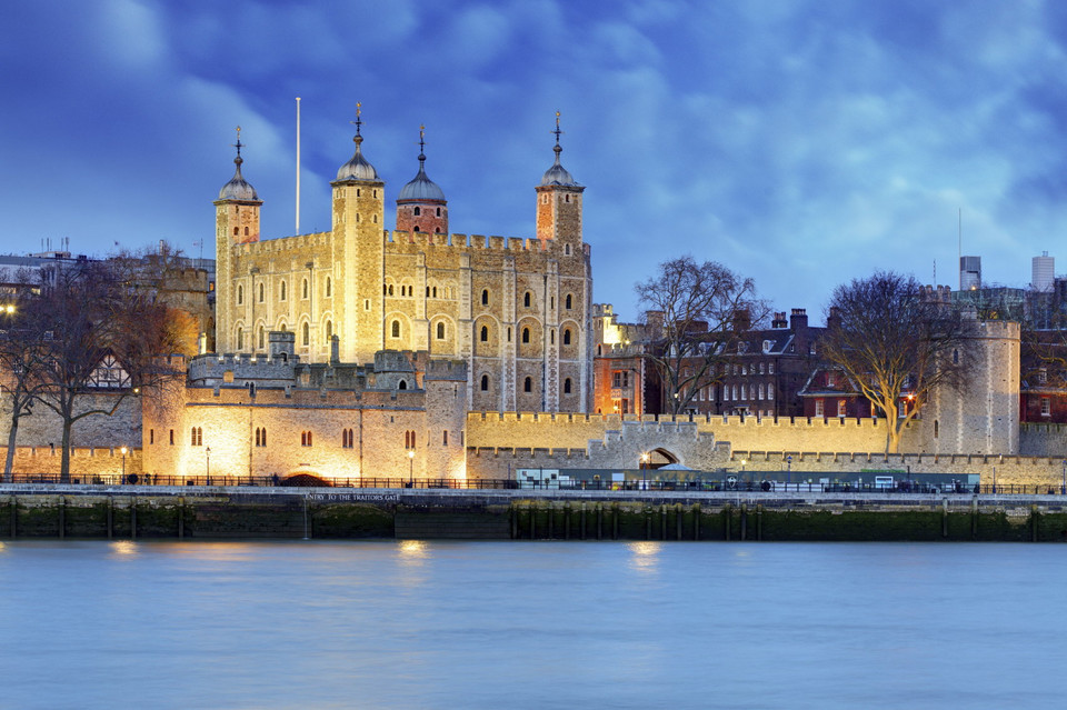 7. Tower of London (Londyn, Anglia) - 2,894 mln