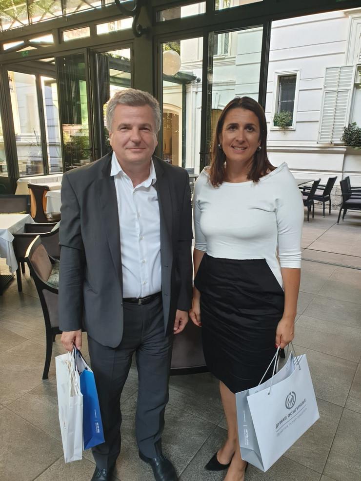 Mirko Petrović i Nikolina Babić