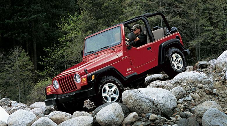 Jeep Wrangler to terenowa ikona. Tylko wersja otwarta, 3-drzwiowa.