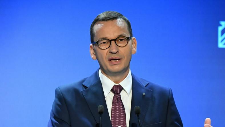 Premier Mateusz Morawiecki budżet