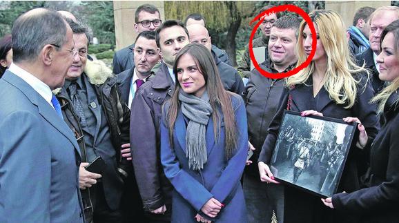 Sergej Lavrov sa pripadnicima organizacije