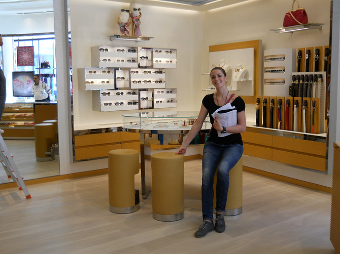 Đurđa Milutinović bila je lider projekta dizajna najvećeg Luj Viton butika u Meksiku